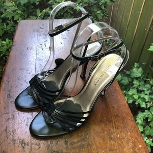 """Kenneth Cole NY Black Sandal with 3"""" Heel"""